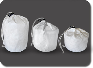 Escape Pod Coolers come with an optional TYVEK bag