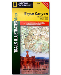 National Geographic Trails Illustrated Map Bryce Canyon National Park