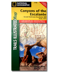 National Geographic Trails Illustrated Map Canyons of the Escalante