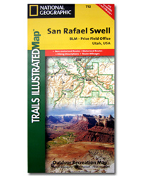 National Geographic Trails Illustrated Map San Rafael Swell