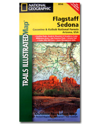 National Geographic Trails Illustrated Map Flagstaff and Sedona