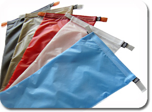 Slap Bags by Simple Outdoor Solutions available in 5 colors