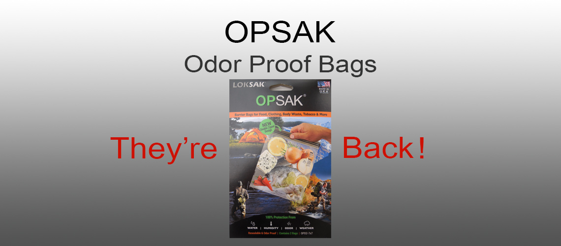 OPSAK Odor Proof Bags