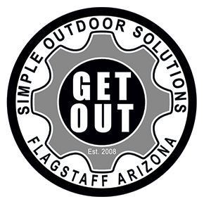 Get Out Sticker